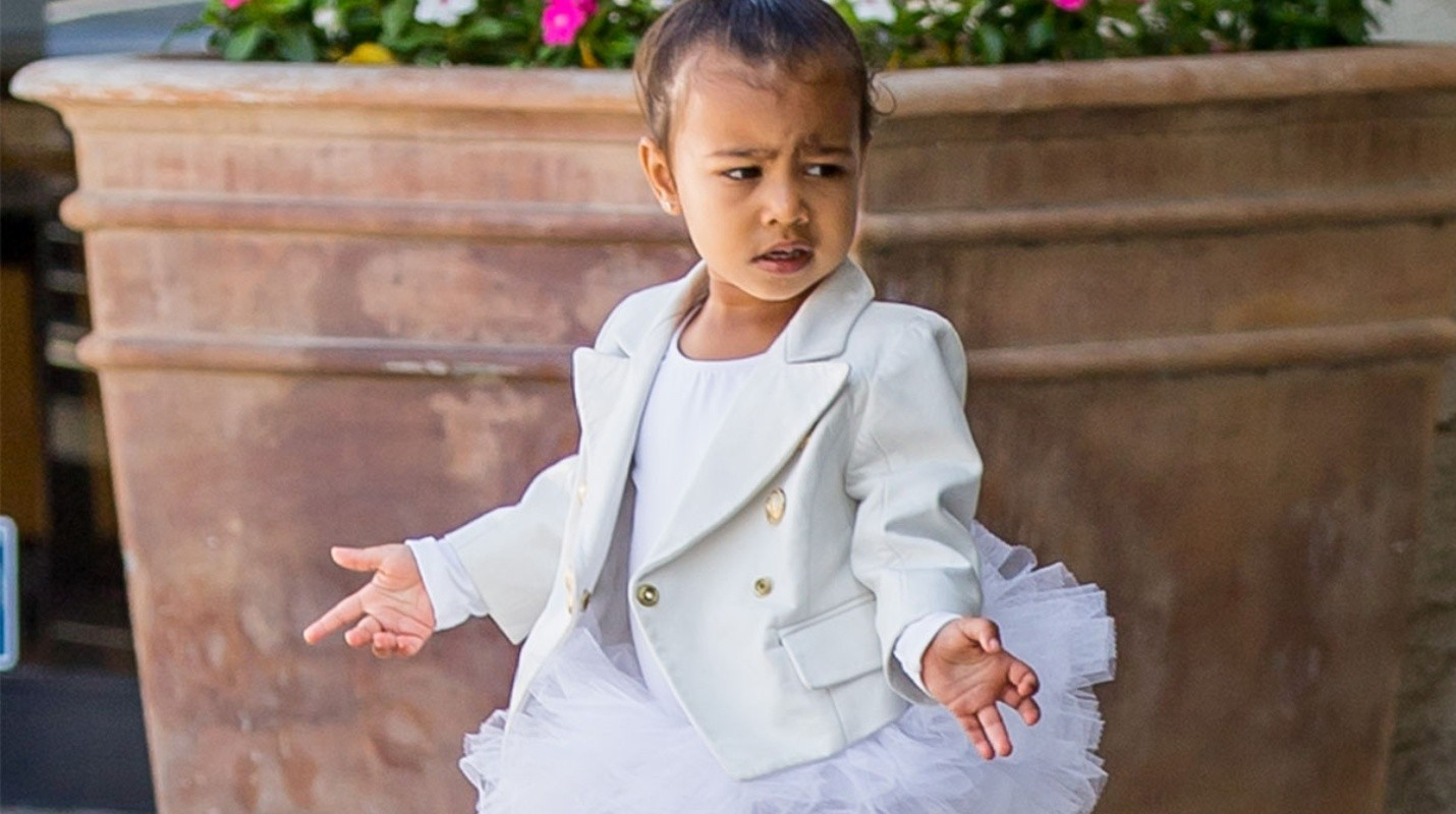 North West, la bebé más fashion del espectáculo