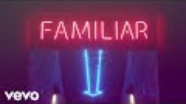 Lyric video de la canción 'Familiar' de Liam Payne y J Balvin.
