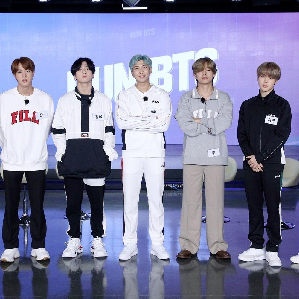 RUN BTS!  It was full of fun with T1 as guests